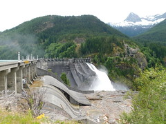 Diablo Dam (jimmywayne) Tags: washington whatcomcounty skagitriver northcascades nationalpark dam diablodam