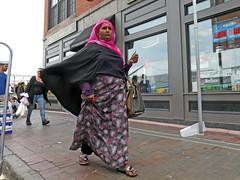 BostonStrideandCall (fotosqrrl) Tags: boston massachusetts streetphotography urban haymarket hanoverstreet hijab