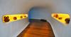 Mirador del Rio (RafalZych) Tags: canary canaries kanaren kanaryjskie island islands wyspy lanzarote caesar cesar manrique tunnel corridor architecture interior view sigma 1020 nikon d90 wide wideangle