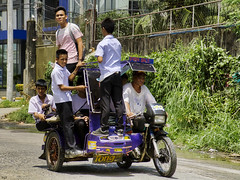Home Time (Beegee49) Tags: school boys tricycle public transport city philippines bacolod