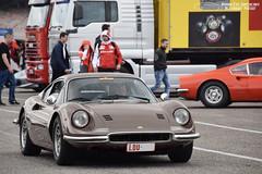 Ferrari Dino 246 GT (Alexandre Prévot) Tags: european cars automotive automobile exotics exotic supercars supercar worldcars nancy lorraine france 54 54000 auto car berline sport voiture route transport déplacement parking luxe grandestsupercars ges meurtheetmoselle