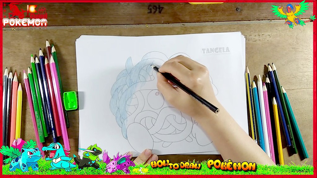 How To Draw POKEMON Color Paint Cute Snow White Coloring Pages And Learn Colors For