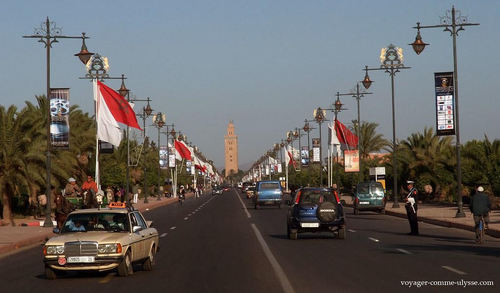 Avenue de la Menara