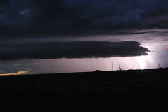 lightning storm off I-40 near Flagstaff Az (Darren's Rides) Tags: trees girls arizona rain night clouds dark trucks lightning storms happyjack holbrookaz flagstaffflood