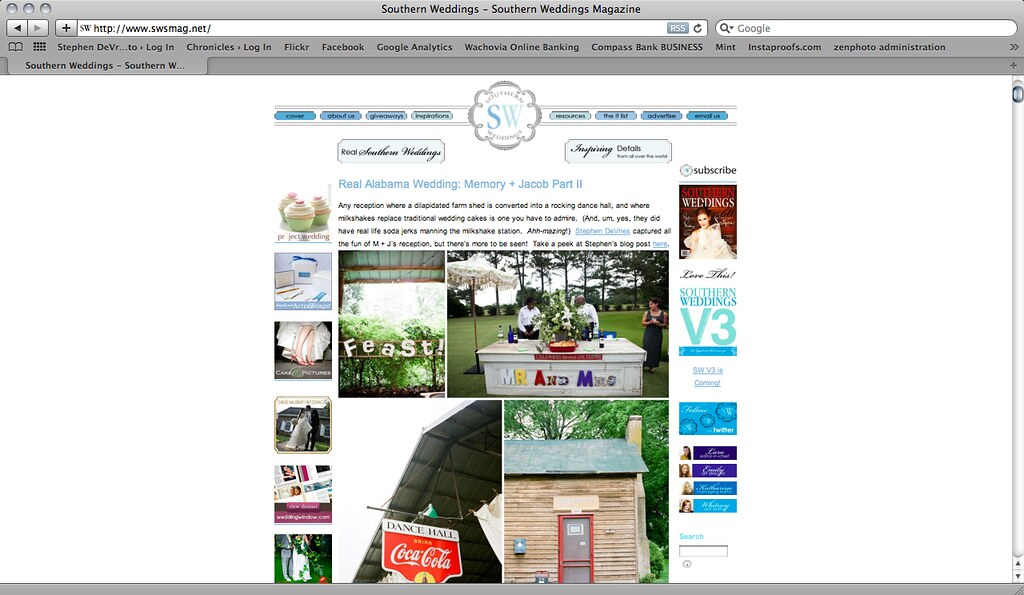 Image of Southern Weddings Blog!