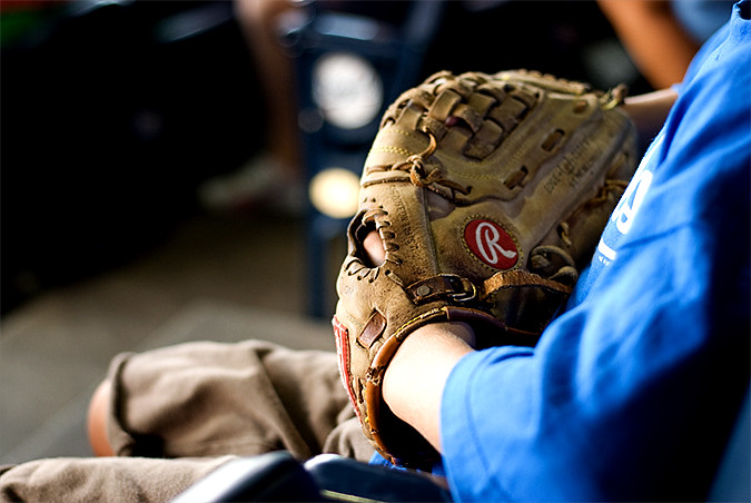 royals game will's glove