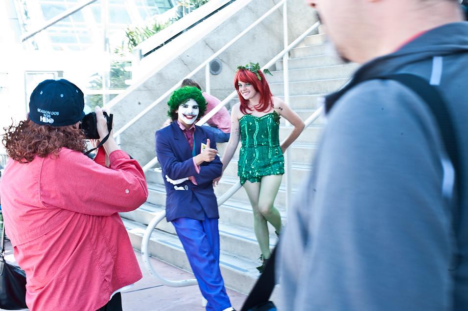 The Joker and Poisen Ivy