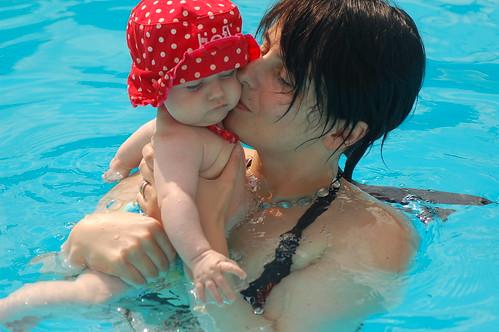 Laat mij zwemmen!