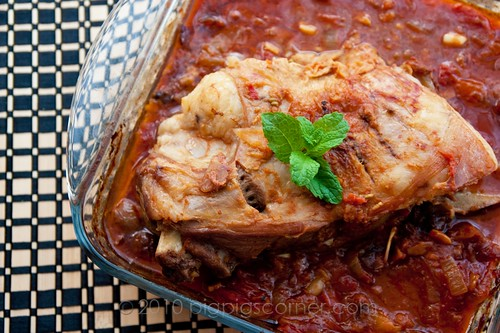 Spiced roast lamb 1