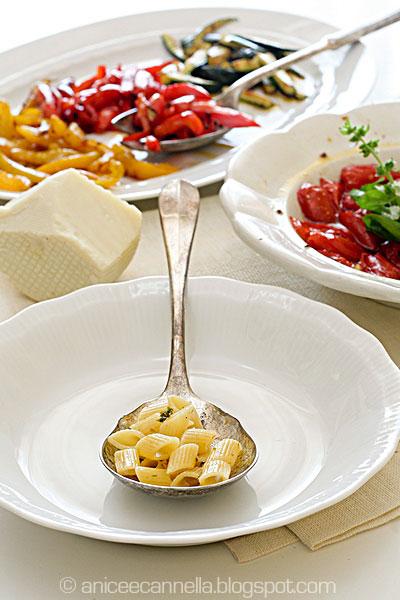 insalata di pennette, ingredienti