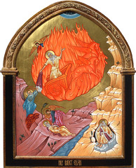 Holy Prophet Elijah (MatthewDGarrett) Tags: art saint religious icons catholic image saints elias icon christian idaho boise jordan sacred cave christianity elisha russian raven fed orthodox elijah prophet byzantine ascension iconography apostolic orthodoxy oldtestament iconographer matthew garrett fierychariot