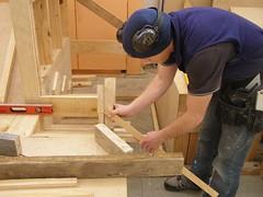 setting out braces (matt.thompson11) Tags: building stair otago carpentry