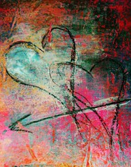 Two Hearts (MY PINK SOAPBOX) Tags: abstract art love collage poster hearts artwork colorful peace arte heart amor originalart mixedmedia contemporary vivid romance popart amour romantic arrow anahi abstracto astratto colori cuore amore couer corazon afiche affiche flecha pintora graffitiwall grafwall femaleartist feministmovement femalephotographer womanartist abstraite feministart feministartist urbandecor artefeminista graffwall yuvaika frenchcountrydecor anahidecanio feministphotographer mujerfotografa amorflechado crossinghearts feministartwork feministphotojournalist feministartmovement artistanahi anahipintura anahiafiches anahiposters anahiart feministcollage feministlife anahidecaniolicensingart anahidecaniohearts