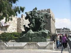 Estátua de Saladino, Damasco, Síria