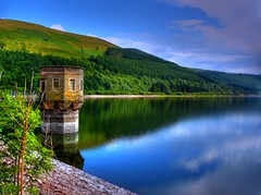 Talybont Reservoir, Brecon Beacons National Park, Wales (leslievella64) Tags: leica uk lake water wales europe britain cymru eu reservoir leslie hdr galles talybont breconbeaconsnationalpark talybontreservoir leslievella64