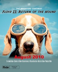 Floyd II: Return of the Hound v5 (Paguma / Darren) Tags: dog clouds movie poster goggles hound floyd doggles