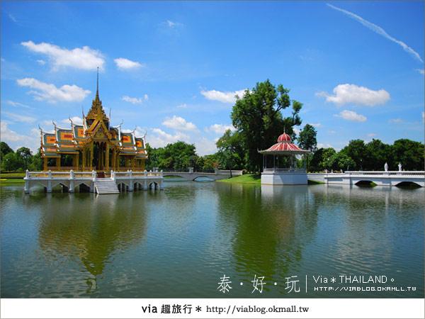 【泰國旅遊】大城之旅|泰皇的渡假聖堂~芭茵夏宮13