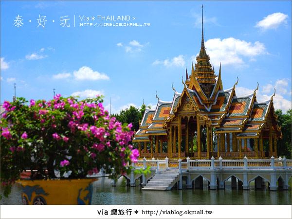【泰國旅遊】大城之旅|泰皇的渡假聖堂~芭茵夏宮16