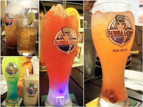 Bubba Gump Shrimp Co - drinks