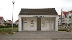 """Stella-Plage, Pas-de-Calais, France """" Toilettes """""""