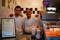 Smiffy's Chippy (AndyWilson) Tags: seaside sony saturdaynight hastings alpha a700 chipshops 18250