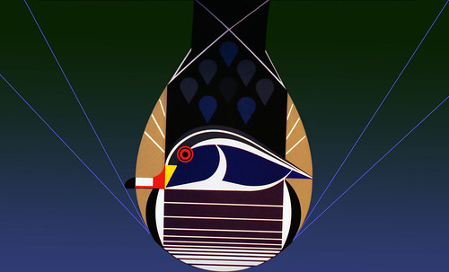"Charley Harper • <a style=""font-size:0.8em;"" href=""https://www.flickr.com/photos/30735181@N00/4847705667/"" target=""_blank"">View on Flickr</a>"