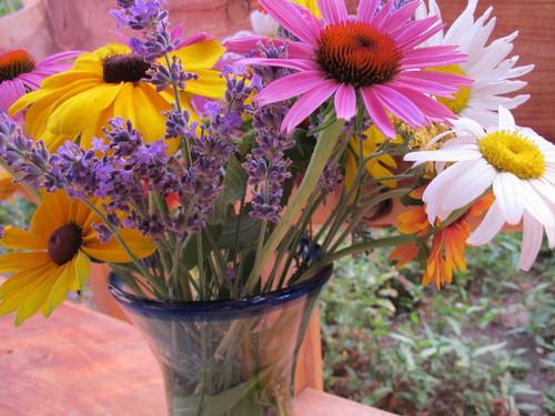 Bouquet up close