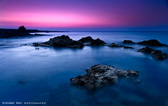 ..and the night gives way to the day (Seen in Explore Front Page, thank You!!) (Giovanni Gori) Tags: longexposure pink blue sunset shadow sea vacation sky italy art beach nature night composition sunrise landscape geotagged photography landscapes nikon holidays rocks italia tramonto mare waves photographer shadows alba deep silouette bauxite explore bologna bluehour fotografia otranto geotag salento spiaggia notte paesaggio vacanze fotografo onde scogli potofgold explored d700 nikkor2470mmf28g saariysqualitypictures mygearandmepremium mygearandmebronze mygearandmesilver mygearandmegold mygearandmeplatinum mygearandmediamond mygearandmeplatinium giovannigori ringexcellence dblringexcellence tplringexcellence