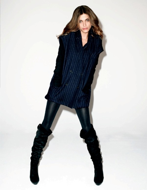 Diane von Furstenberg Fall 2010 campaign by Terry Richardson 1