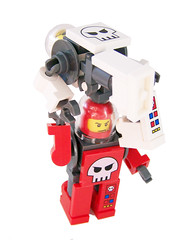 Space Pirate Mech Launch Party! (miniBIGS) Tags: star power lego space pirates police wars minifig custom mech miners minifigure minibigs