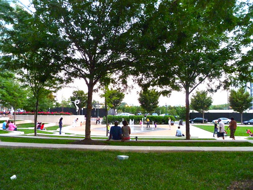A Sunday Evening at Town Square Park, Reston Town Center