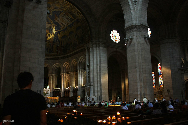 Dans la basilique, on voit l'éclectisme de l'architecture