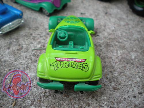 """Racing Champions """"Street Wheels"""" diecast 1:64 scale - 'Teenage Mutant Ninja Turtles' 5 pack :: 1997 Plymouth Prowler - TMNT Roadster iii (( 1999 ))"""