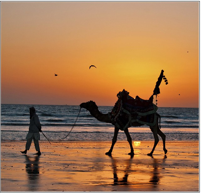 Clifton Beach, Karachi Central | Mera Watan