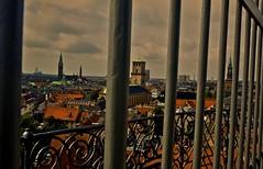 Copenhagen 14 (Pete A. McLeod) Tags: city denmark lumix aperture iron europe downtown view wroughtiron panasonic scandinavia birdseyeview hdr mcleod