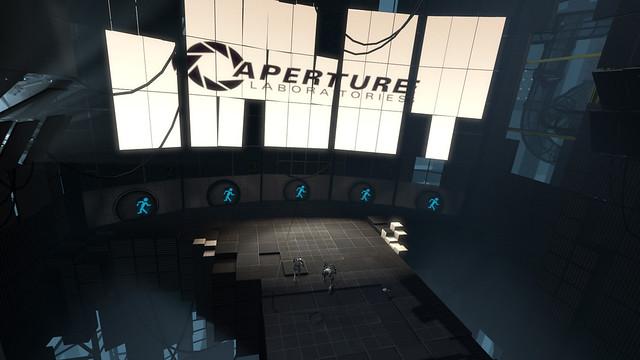 Portal 2 robots Aperture Laboratories