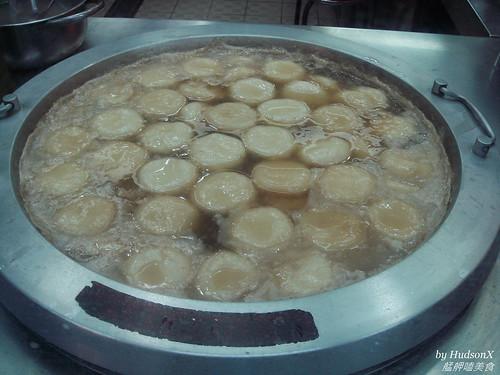 滿鍋的燒麻糬