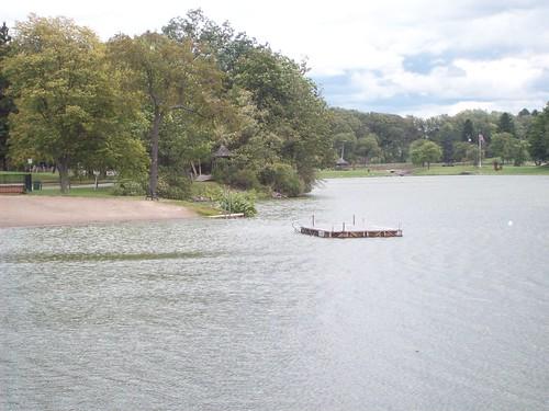 Green Lake: the swimming area