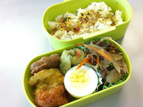今日のお弁当 No.9 – 緑黄野菜