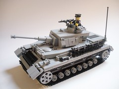 Panzer IV  V2. (ricks-to-use) Tags: germany tank lego wwii iv v2 panzer mg42