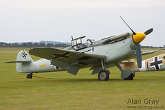 G-BWUE HISPANO HA.1112-M1L 223 PRIVATE - 100905 Duxford - Alan Gray - IMG_1828