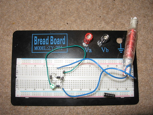 Shakeable dynamo: Build a bridge rectifier