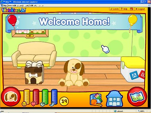 webkinz JR world
