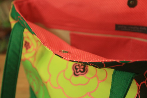 pink dot lining