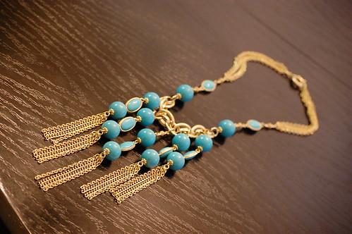 Banana Republic turquoise necklace