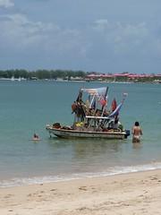 Fruitman (Pink$oda) Tags: sea beach st lucia fruitman