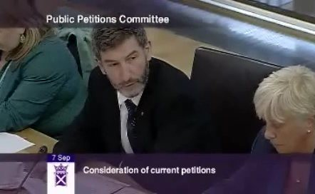 Pictures Of Petitions. Nigel Don Petitions Committee