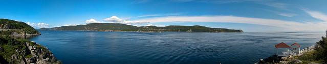 Panorama Pointe-Noire - Parc marin du Saguenay - Saint-Laurent