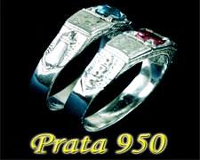 Anel Infantil Prata 950