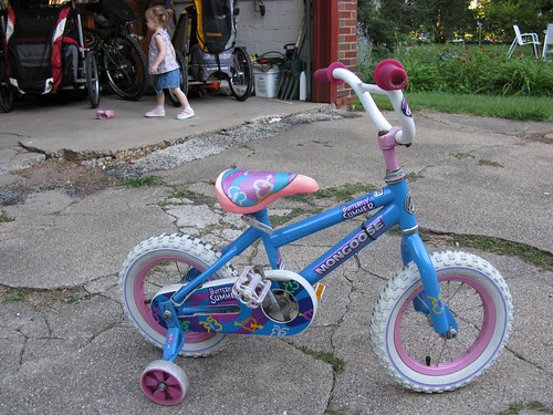 "Amelia's ""new"" bike"